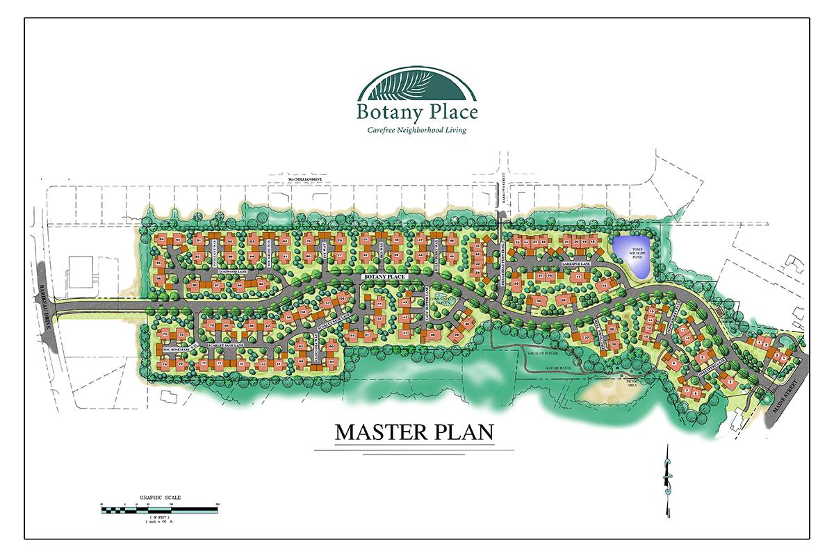 Botany Place Master Plan